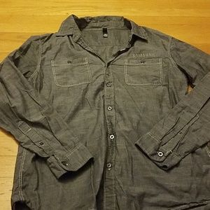 Worn once Samsung long sleeve dress shirt